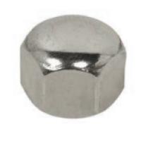 Porca Calota Forma Baixa Aço Inox 304 A2