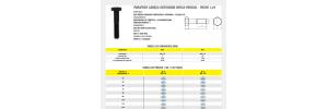 Parafuso Cabeça Sextavada Rosca Parcial Passo 1,25 Aço Médio Carbono  Classe 8.8
