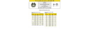Porca Aço Carbono Castelo sem Coroa - Grau 2 - Classe 6 Rosca Fina