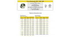 Porca Sextavada Aço Carbono - Grau 2 Classe 6 - UNF - MB