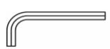 Aplicação da Chave hexagonal